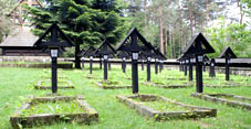The trail of cemeteries from the First World War